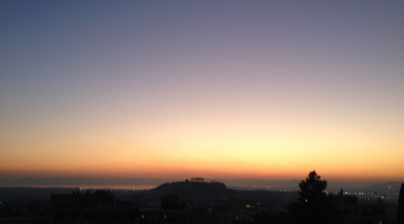 Acropolis Sundown